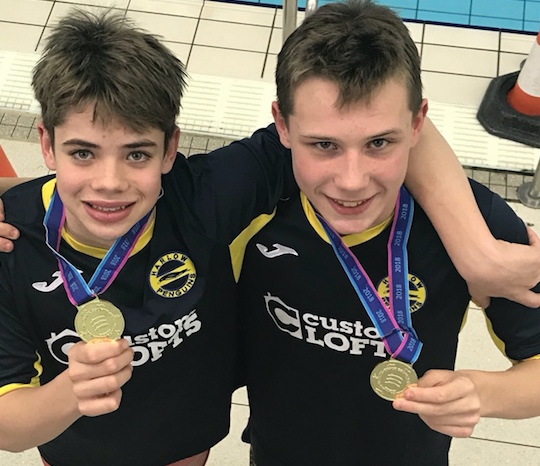 Passmores Academy swimmers grab gold