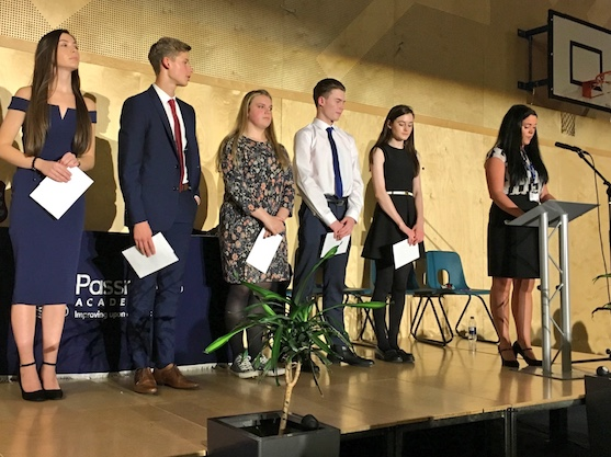 Passmores Academy celebrate students' achievements