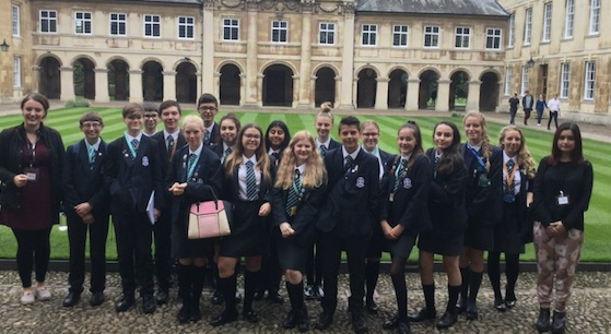 Passmores Academy students go up to Cambridge