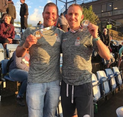 "Athletics: Andy, Paul and Kerry are true ""Ironmen"""