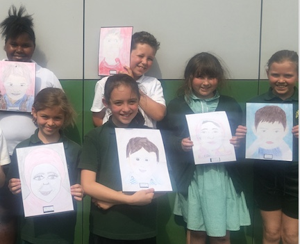Pear Tree Mead students take part in Memory Project