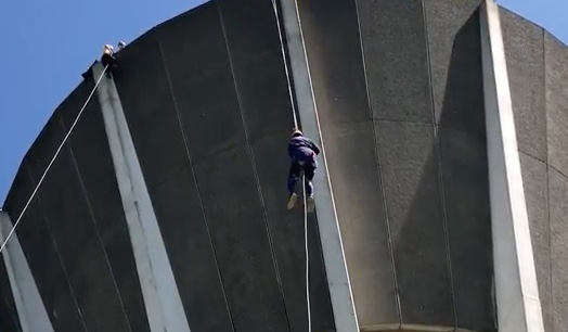 Charities flock to Harlow Tye Rotary Abseil at Church Langley Water Tower