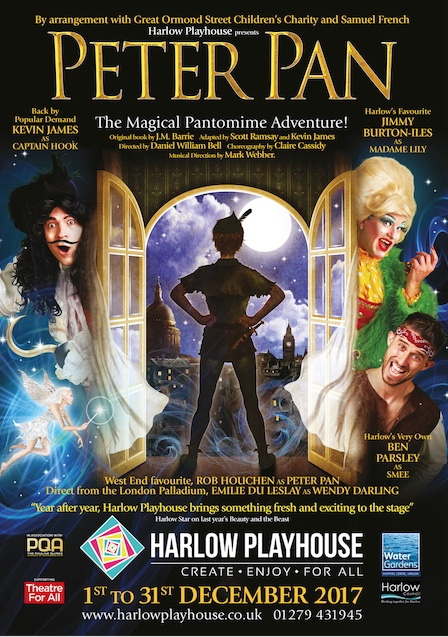 Harlow Playhouse Pantomime: Peter Pan: The show is the star!