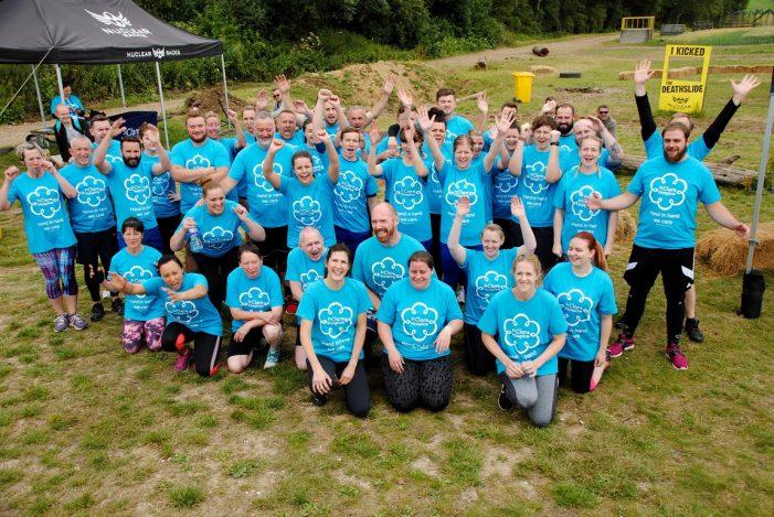 Hospice's Muddy Mayhem event raises £3,500 in vital funding