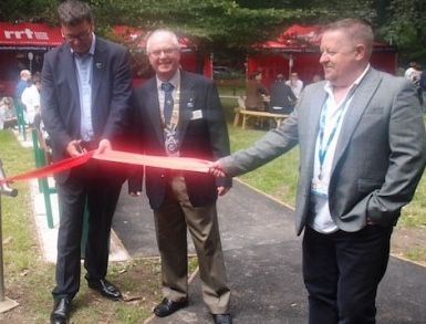 Rotary picnic park opened at Princess Alexandra