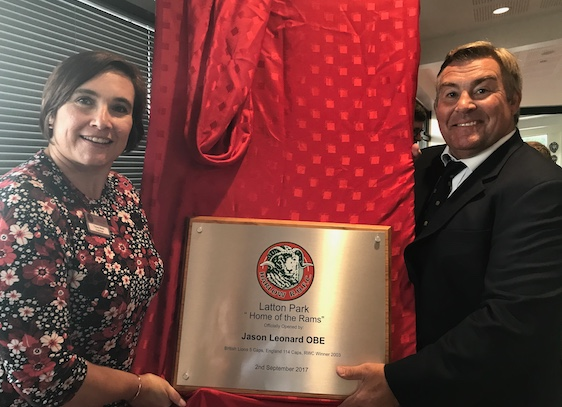 England legend Jason Leonard opens new Harlow Rugby Club