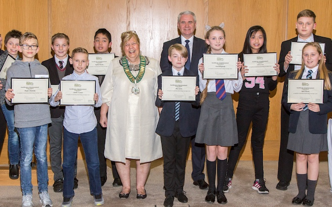 Educational progress of Harlow students celebrated at awards