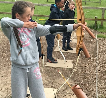 Purford Green and Potter Street pupils join together for a daring adventure