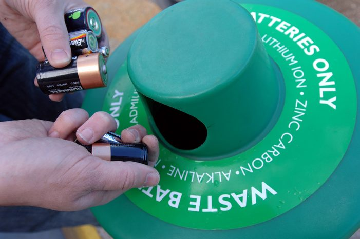 Harlow residents asked to dispose of batteries correctly