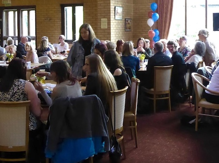 Race night at Canons Brook for St Clare Hospice
