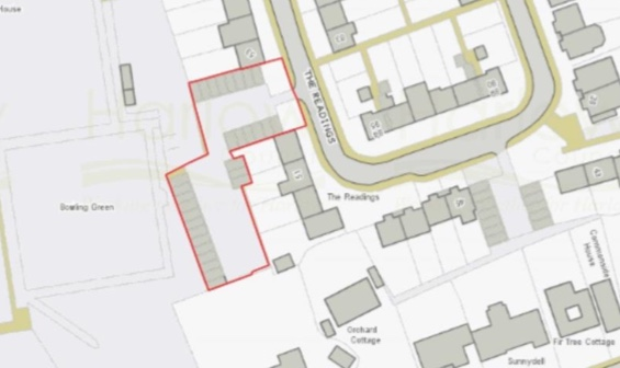 Planning permission given for new properties in The Readings