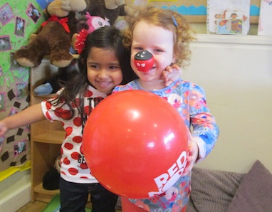 Children At Kiddi Caru Bake Up A Storm For Red Nose Day
