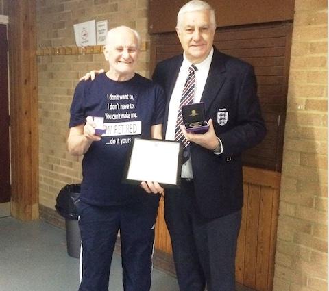 "Award for Harlow football legend ""Reg"""