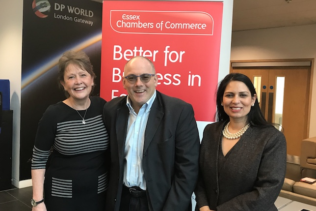 Essex Chamber welcome Robert Halfon to skills summit in Thurrock