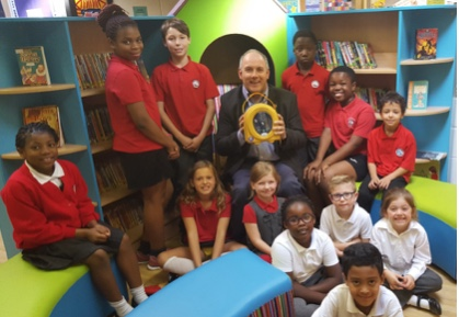 St James' school welcome Harlow MP to celebrate fundraising efforts