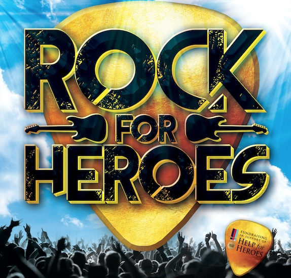 Are you ready to Rock for Heroes?
