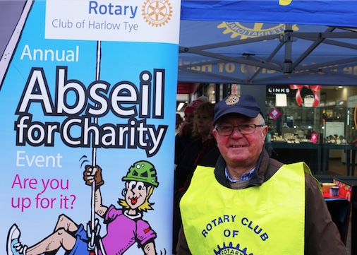 Harvey Centre set to sponsor Harlow Tye Rotary Charity Abseil