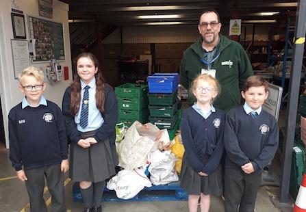 Harvest Festival kindness from Roydon Primary pupils