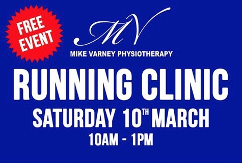 Mike Varney Physiotherapy set to host Running Clinic
