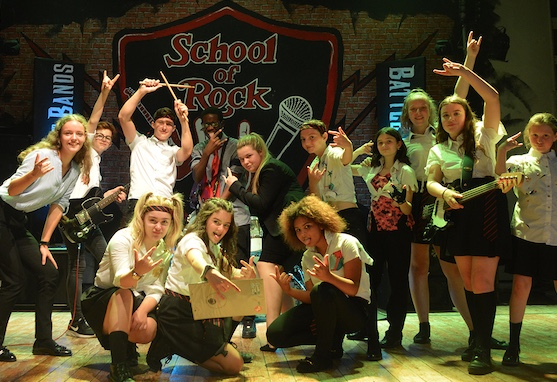 Over a hundred students take part in Burnt Mill's School of Rock