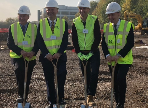 Ground-breaking ceremony at Harlow Science Park as hopes high for up to 3,000 jobs