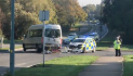 Police car in horror smash on Southern Way