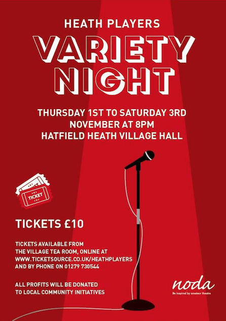 Heath Players set for Variety Night