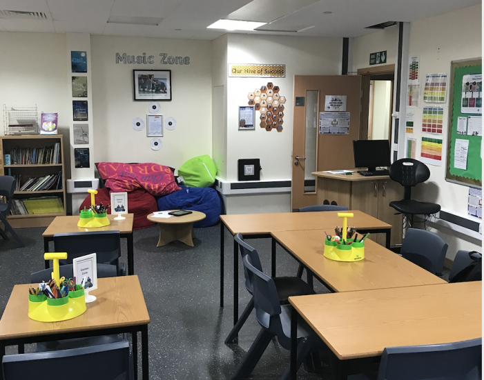Children needing some time out during the school day now have their own peaceful space.