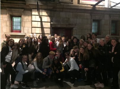 Stewards Academy students see former pupil appear in Motown on the West End