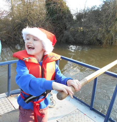 Christmas cruises with Canalability in Harlow