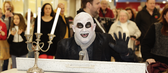 Harvey Centre plays host to spooky Halloween pirates