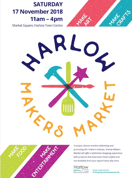 Stallholders announced for the first ever Harlow Makers Market