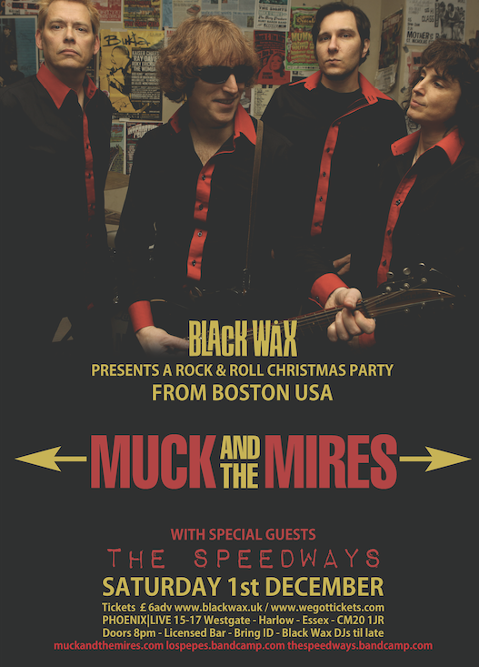 Coming to Phoenix Live: Muck and the Mires
