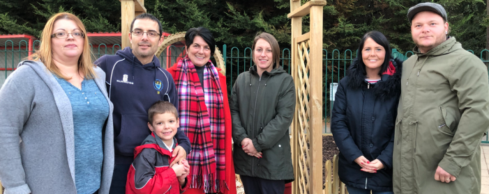 Little Parndon parents opens memory garden at school