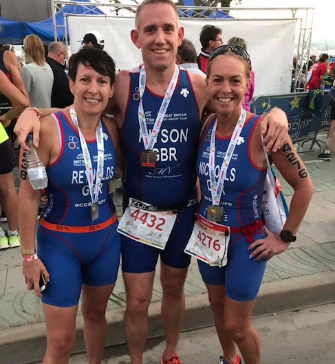 Triathlon: Five Harlow triathletes represent GB in Ibiza