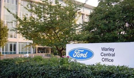 Ford to close UK HQ in Brentwood