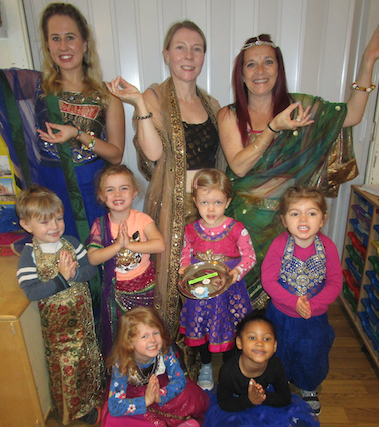 Diwali Celebrations At Kiddi Caru Harlow