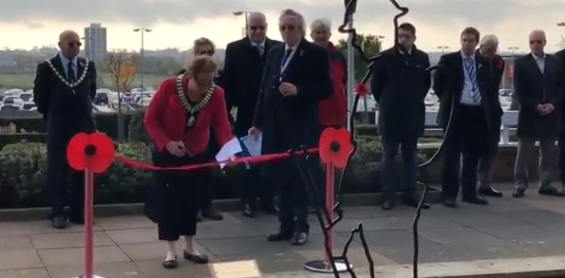 Harlow Council host Remembrance ceremonies outside civic offices