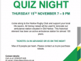 St Johns Ambulance to host charity quiz night