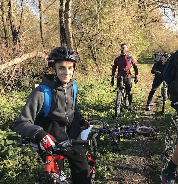 BMAT STEM students get on their bikes
