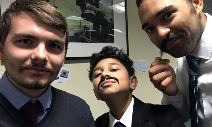 Burnt Mill take on the Movember challenge