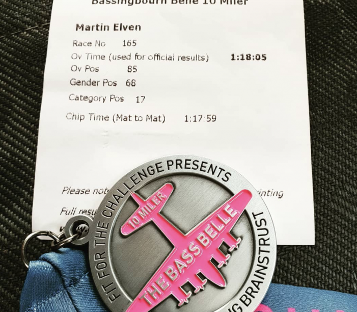 Athletics: Elven caps fine year with 10 Mile PB