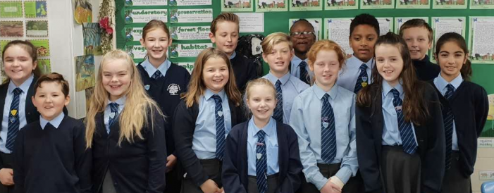 Young leaders take on new responsibilities at their primary school.