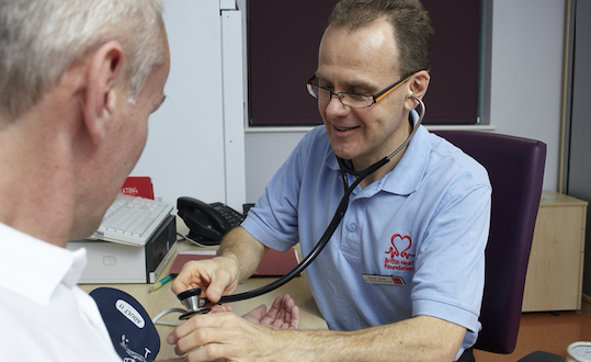 BHF get chance to tackle high blood pressure in Harlow