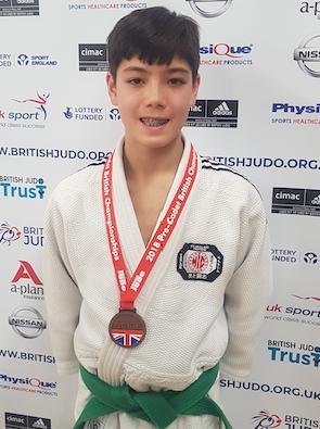 Judo: Owen fights hard to win Bronze at British Champs