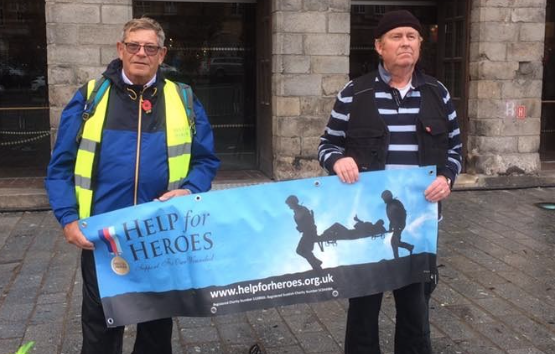 Two Harlow Help for Hero volunteers raise thousands walking to Ypres