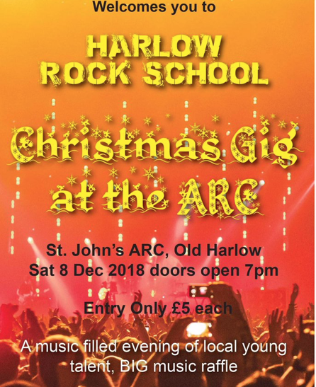 Harlow Rock School to host Christmas Gig