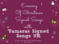 Tany's Dell to host a night of Christmas signed songs
