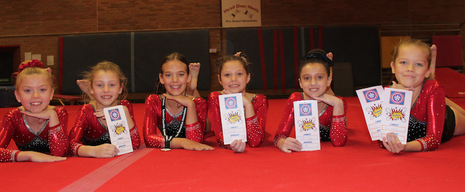 Harlow Gymnastic Club produce outstanding performances at two prominent competitions.