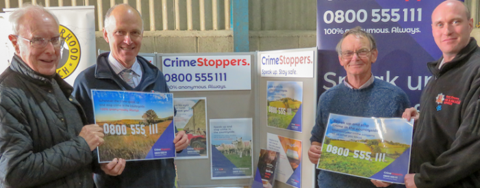 Speak up about rural crime near Harlow